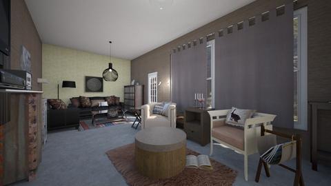 main room - Bedroom - by jdenae3