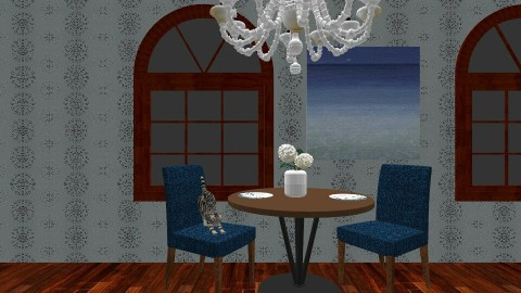 Dinner for two - Modern - Dining room - by Snowella11