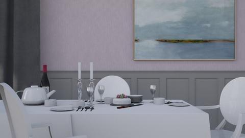 High Tea - Glamour - Dining room - by HenkRetro1960