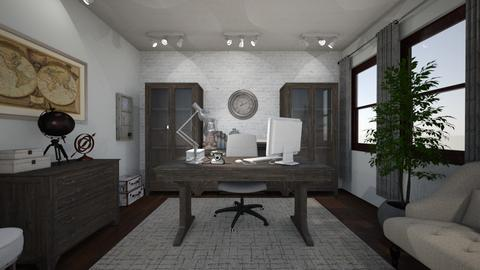 Dream Office - Vintage - Office - by MessyArtwok