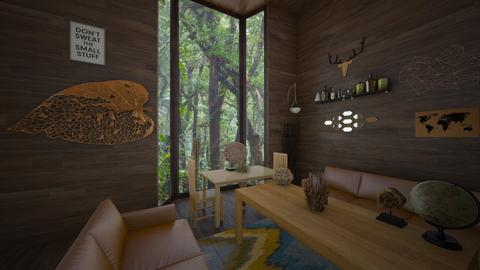 Forest Living Room - Living room - by CatsFurLife