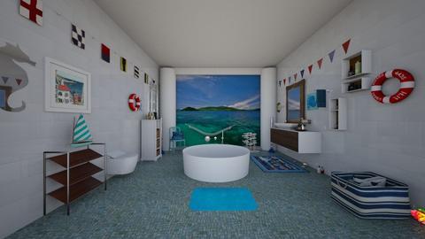 bathroom - by Sharon Stokes