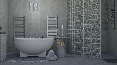 Grey - Bathroom - by Jade Autumn