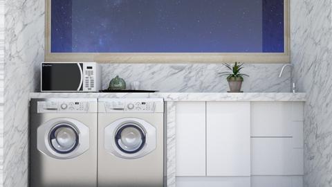 cuarto de lavado Guadarra - by Claudia Servin leyva