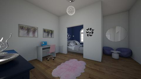 blue - Bedroom - by bebe_bazemore22