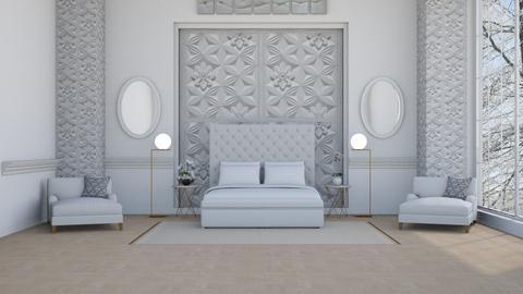 Hennes y Mauritz - Classic - Bedroom - by Elenn
