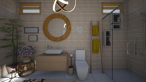guest bathroom 93 - Bathroom - by GeGe Kanthip