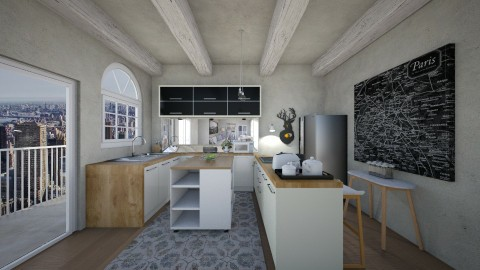 House 3 - Minimal - Kitchen - by deleted_1504882301_leticiacamargo