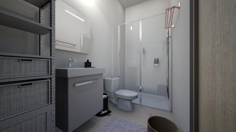 Nadyas Ensuite - Minimal - Bathroom - by nadyabbrah