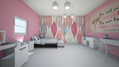 feminine - Bedroom - by imane el moustaid