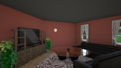 my first desing - Modern - Living room - by Mitchel Carlson