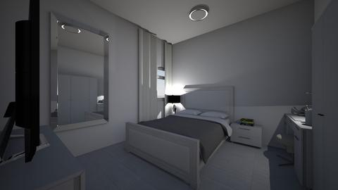 quarto da republica - Glamour - Bedroom - by kelly lucena