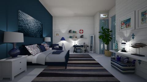 Nautical bedroom - by Themis Aline Calcavecchia