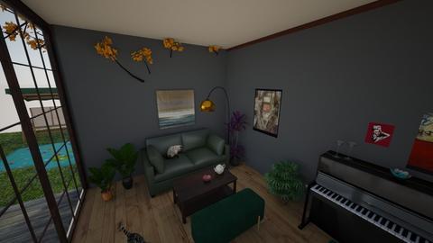 rrr - Living room - by natasznix