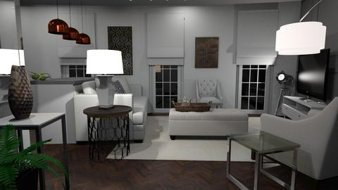 Earls Court Lounge - Living room - by CAD Service UK