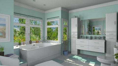 Bathroom for Martha - Modern - Bathroom - by Bibiche