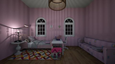 Kid room - Feminine - Bedroom - by WaughCat