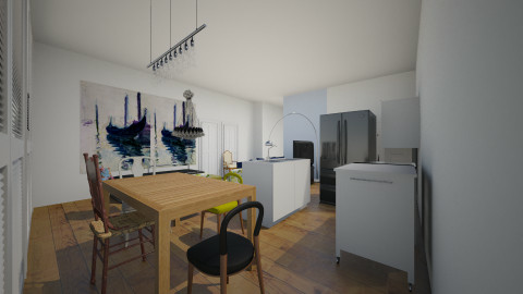 2nd floor kitchen - by sudhavmittal