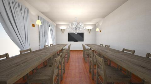 shokudou - Dining room - by SHUNA