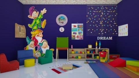 Kindergarten  - Modern - Kids room - by Uroosa Bint E Haroon