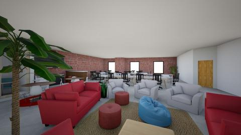 217 DE LA COMMUNE - Modern - Office - by mellebrahim