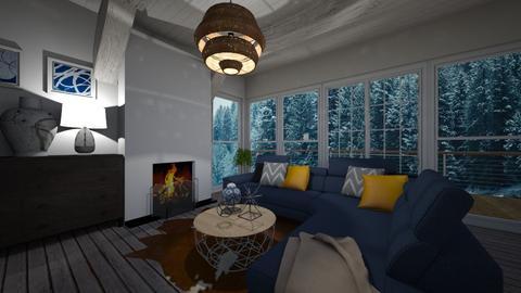 Boathouse - Living room - by jasmijnvanlieshout