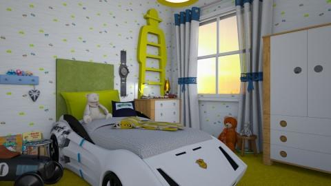 kids corner cars - by donella