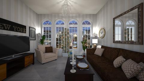 York - Living room - by VeroDale