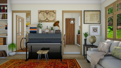 Hi - Eclectic - Living room - by Laurika