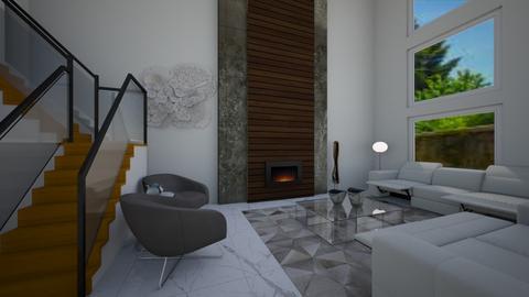 Kanwar - Living room - by Real Teal designs