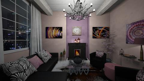CLOCKWORK - Living room - by zsjv1989gmailcom