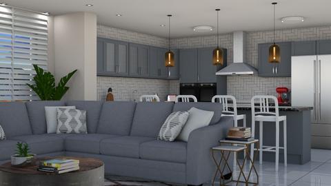 Crosby - Living room - by aletamahi