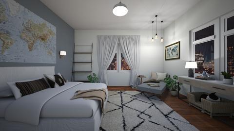 bedroom - by SofiaMa