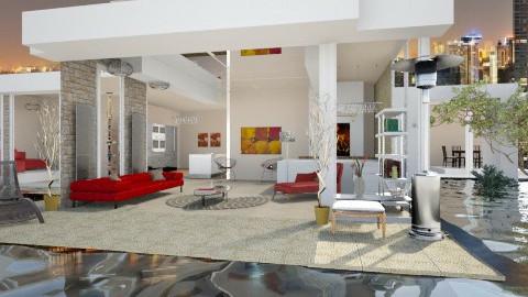 Modern Loft - Modern - Living room - by rollyr1