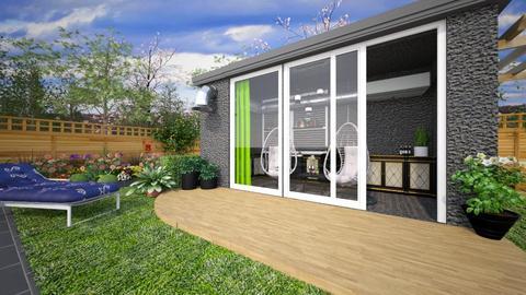 summer house - Feminine - Garden - by donella