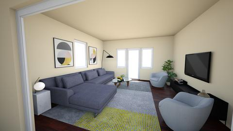 Pat Eva  - Living room - by mikaelawilkins
