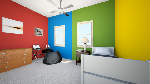 bens room - Modern - by skivailyolo