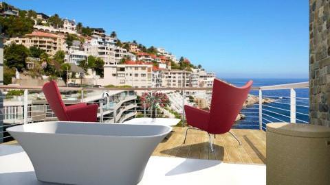 Cantibra bath and balcony - Modern - Bathroom - by Nhezi