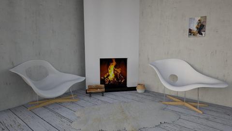 greece - Rustic - Living room - by LetiG