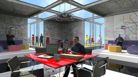 flexible office - Modern - Office - by XValidze