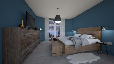 Bedroom industrial - Modern - Bedroom - by Roosmarijnbx