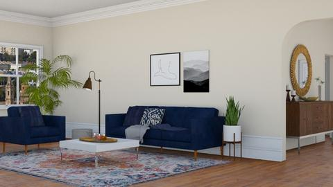 The Glicks Apt - Living room - by lovedsign