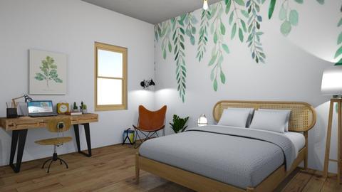 mural - Modern - Bedroom - by PeculiarLeah
