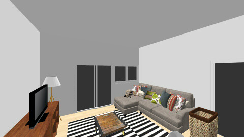 Planning living  1 - Living room - by klumea