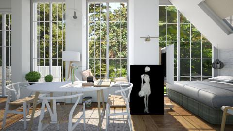 Life creativity - Modern - Living room - by Leyvna