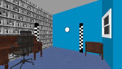 teen room - Retro - Bedroom - by Ava1
