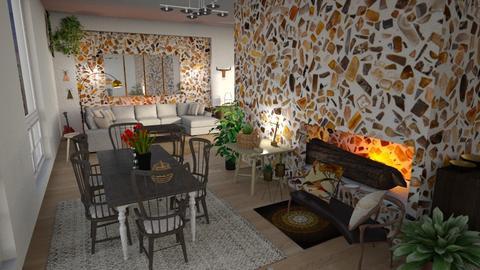 Big_Logs - Living room - by ZuzanaDesign