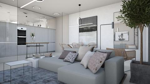 Kitchenandliving - Living room - by chania