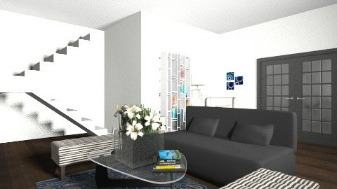 Black and white - Modern - Living room - by micabroggi1