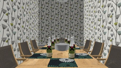 dining room 1 - Classic - Dining room - by Pearl hernandez